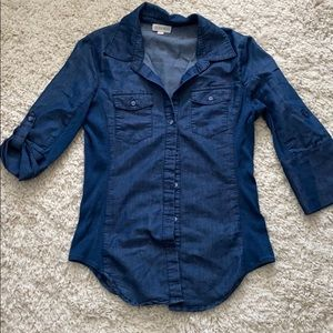 Guess button up top.